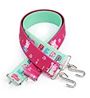 2 Pack Peppa Pig Elasticated Belts