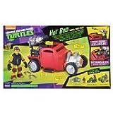 Teenage Mutant Ninja Turtles Turtle Hot Rod with Michelangelo Vehicle