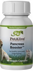 Petalive Pancreas Booster Capsules, 60-Count Bottle