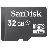SanDisk microSDHC 32GB クラス4 バルク品 サンディスク Class4