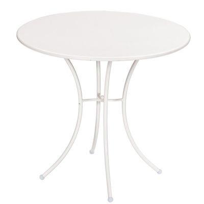 Pigalle Tisch weiß ø 80 cm, h 72 cm jetzt kaufen
