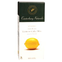 Canterbury Naturals Sunshine Lemon Cake Mix, 15.5 Ounce -- 12 per case.