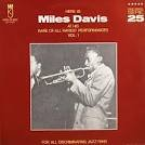 Here Is Miles Davis At His Rare of All Rarest Performances Vol. 1