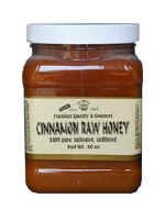 RAW HONEY ENRICHED WITH CINNAMON 40-OZ