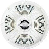 Bazooka MAC6502W 6.5-Inch Marine Coaxial Speaker (White)