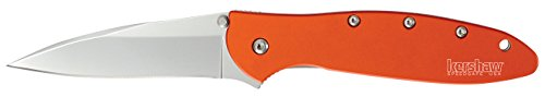 Kershaw-1660OR-Leek-Folding-Knife-Orange-with-SpeedSafe