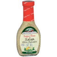 Sugar Free Salad Dressing, Italian White Balsamic, 8 fl oz