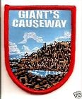 Giant's Causeway Nothern Ireland Flag Embroidered Patch Badge