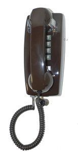 Cortelco Kellogg 2554 Wall Mount Phone Bn Telephony with Vol Cntrl (Telephones Corded Wall Mount compare prices)