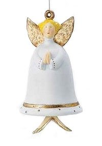 Department 56 Krinkles Angel Bell Christmas Ornament