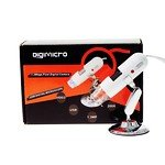 Digimicro 200X Zooming Usb Digital Microscope (White)
