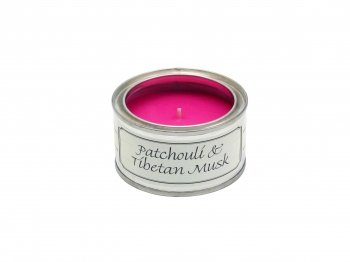 Pintail Candles Pintail Candle Filled Tin - Patchouli And Tibetan Musk from Pintail Candles