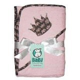 Crown Jewel Hooded Towel - Pink (pink)
