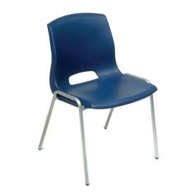 Vented Stackable Chair - Blue - Lot of 4