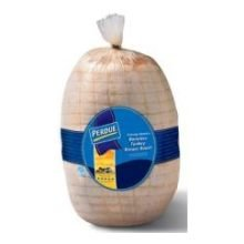 Perdue Farms Ready To Cook Skin On Turkey Breast Roast - Netted, 9.5 Pound -- 2 Per Case.