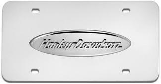 License Plate - Harley Davidson Touring Logo