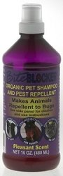 Bite Blocker Pet Products &#8211; Organic Pet/Animal Shampoo 16 oz &#8211; Insect Repellent For Pets