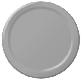 Silver Lunch Plates 24ct