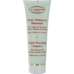 Clarins Gentle Foaming Cleanser with Tamarind & Purifying Micro Pearls for Combination / Oily Skin --/4.4OZ
