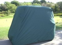 Deluxe 2 Passenger Golf Cart Cover, Green, *Will Not Fit Carts with Extended Roof's