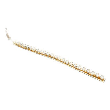Zclbrand New Led 24-Bulbs Flexible Strip Light (12V) , Yellow
