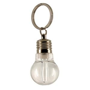 Light Bulb-shaped LED Flashlight Keychain (Lightbulb Key Chain compare prices)