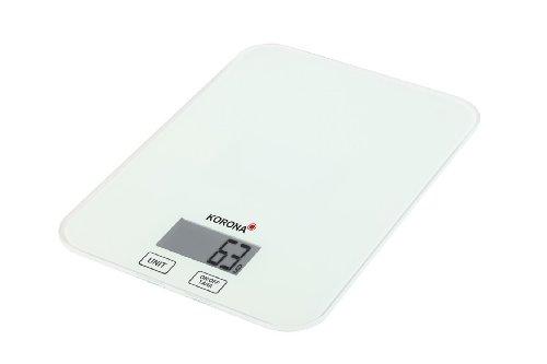 Korona 2050147 Kira Balance de Cuisine Électronique en Blanc