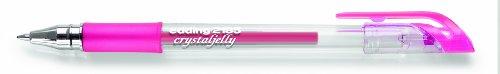 Edding e-2185 - Conjunto de bolígrafos de punta redonda(de gel, 0,7 mm, cubierta de metal, 10 unidades), color rosa
