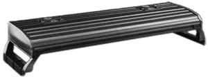 Coralife 08606 Lunar Aqualight High Output T5 Quad Lamp Fixture, 36-Inch