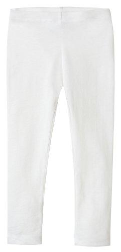 City Threads Girls Leggings Solid - White - 4T