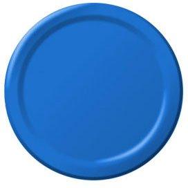 Marine Blue Dessert Plates 24ct - 1