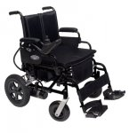 Graham Field Metro Power Iii,Transportable Power Wheelchair, 16X16 Desk Arms, Elevating Legrest , Black, 1/Ea, Ghf2F100230