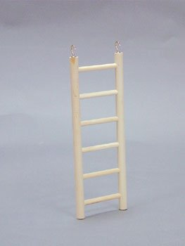Pet Bird Cage Wooden Ladder, 12