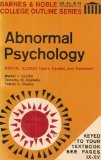 img - for Abnormal Psychology (Barnes & Noble College Outline Series) book / textbook / text book