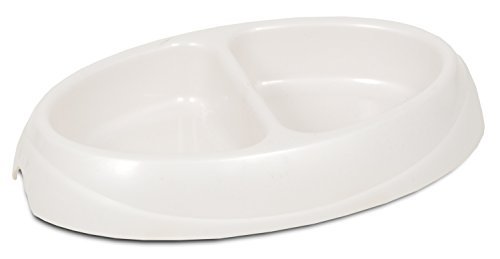Petmate 23174 Double Diner Pet Dish, Medium (Double Food Dish compare prices)