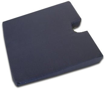 Standard ExtraSupport Orthopaedic Coccyx Chair Seat Cushion Wedge 43x43x7cm (17x17x2.8 inches) From ExtraComfort. SUPPLIED TO THE NHS!