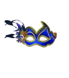 Fancy mask - blue