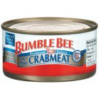 Bumble Crabmeat Fancy White 6 OZ (Pack of 24)
