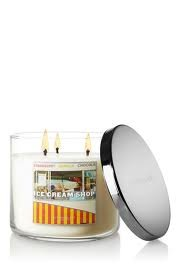 Bath and Body Works Ice Cream Shop Candle 14.5 Oz