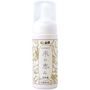 白鶴酒造 米の恵み 泡洗顔 6入 150g
