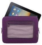 Belkin F8N275tt128-APL Vue Sleeve for iPad2 and iPad - Perfect Plum/Violet
