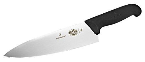 Victorinox Fibrox Straight Edge Chef's Knife, 8-Inch