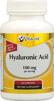 Vitacost Hyaluronic Acid with BioCell Collagen II -- 100 mg per serving - 60 Capsules