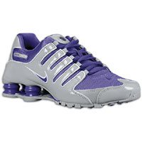 Cool WMNS NIKE SHOX NZ 314561-059 WOLF GREY   PURE PURPLE  95991f994