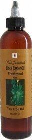Olde Jamaica Black Castor Oil Castor Oil Hair Treatment with tea tree oil - 8 oz