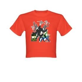 Ben 10 Shirts - Ben Gwen and Kevin with Alien Shadows Infant/Toddler T-Shirt