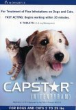 Capstar Flea Treatment Dog (Blue), 2-25 lbs, 6 tablets