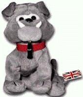Coca-Cola International Collection Bean Bag Dover the Bulldog - England Item #0213 - 1