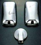 ミラーカバー 3点セット いすゞ 07エルフ・UDコンドル・アトラス・マツダタイタン・デュトロ・ダイナ標準車アンダーミラー140パイ車用