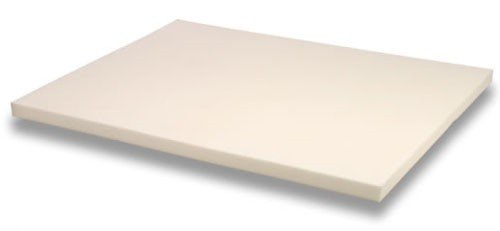memory foam solutions 3 Inch Thick, 4 Pound Density Visco Elastic Memory Foam Mattress Topper
